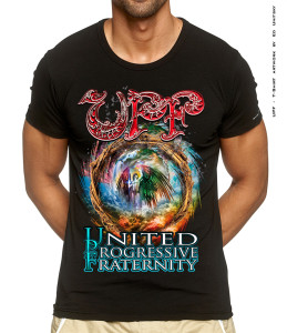 UPF - T-SHIRT - TOUR 2014 M-black