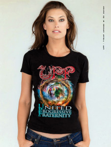 UPF - T-SHIRT - TOUR 2014 W-black