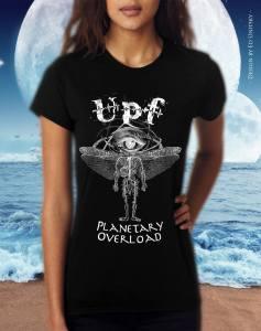 Planetary Overload tshirt f