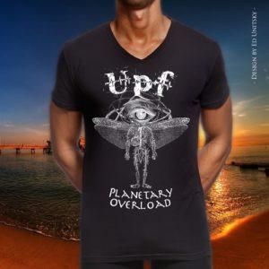 Planetary Overload tshirt m